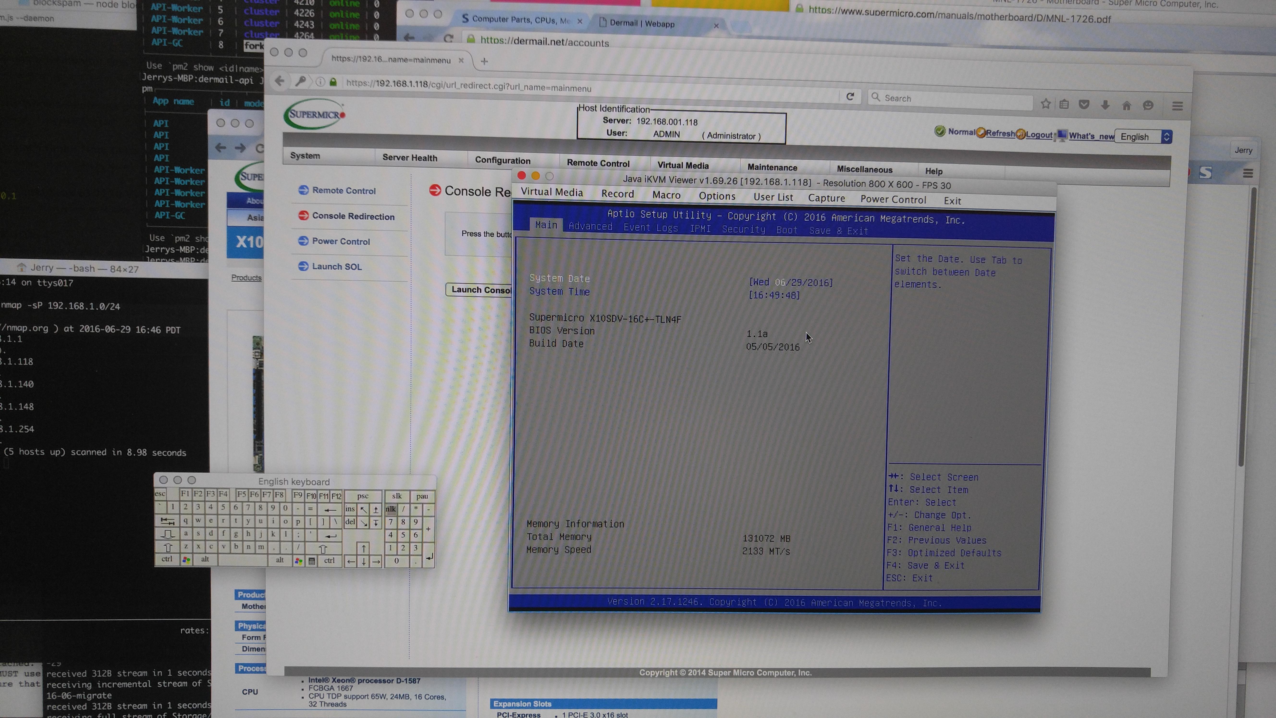 Xeon-D 1587 BIOS